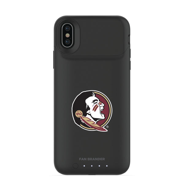 mophie Juice Pack Air battery phone case with Florida State Seminoles Primary Logo