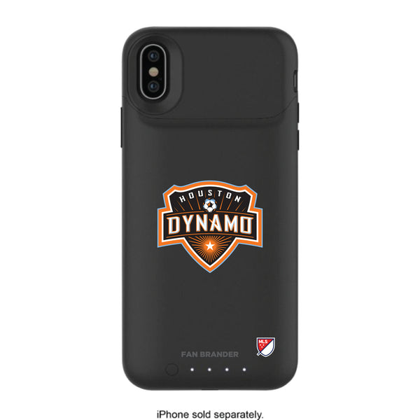 mophie Juice Pack Air battery phone case with Houston Dynamo Primary Logo