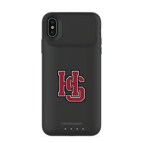 mophie Juice Pack Air battery phone case with Hampden Sydney Primary Logo