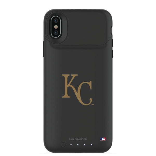 mophie Juice Pack Air battery phone case with Kansas City Royals Primary Logo
