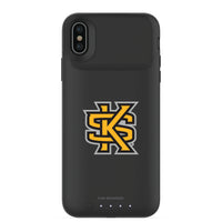 mophie Juice Pack Air battery phone case with Kennesaw State Owls Primary Logo