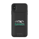 mophie Juice Pack Air battery phone case with Loyola Univ Of Maryland Hounds Primary Logo