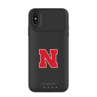 mophie Juice Pack Air battery phone case with Nebraska Cornhuskers Primary Logo