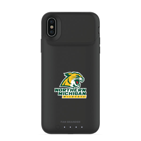 mophie Juice Pack Air battery phone case with Northern Michigan University Wildcats Primary Logo