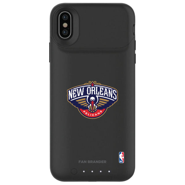 mophie Juice Pack Air battery phone case with New Orleans Pelicans Primary Logo