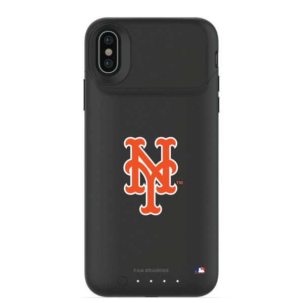 mophie Juice Pack Air battery phone case with New York Mets Primary Logo