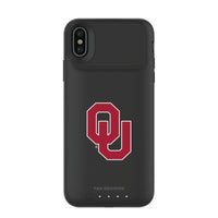 mophie Juice Pack Air battery phone case with Oklahoma Sooners Primary Logo