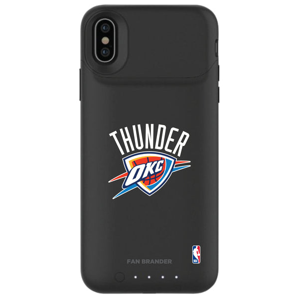 mophie Juice Pack Air battery phone case with Oklahoma City Thunder Primary Logo