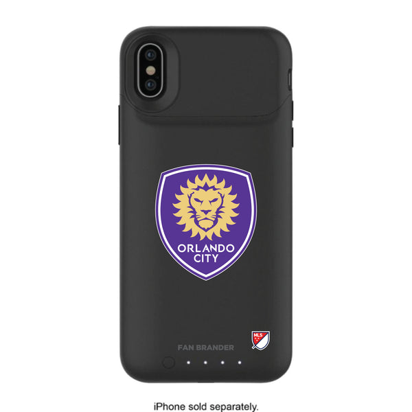 mophie Juice Pack Air battery phone case with Orlando City SC Primary Logo