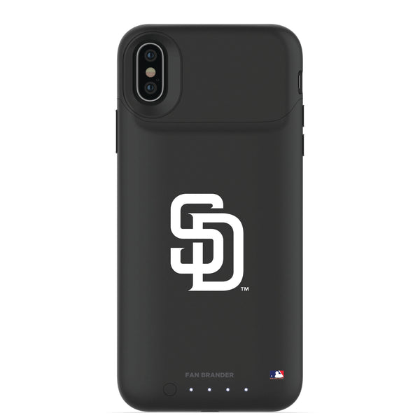 mophie Juice Pack Air battery phone case with San Diego Padres Primary Logo