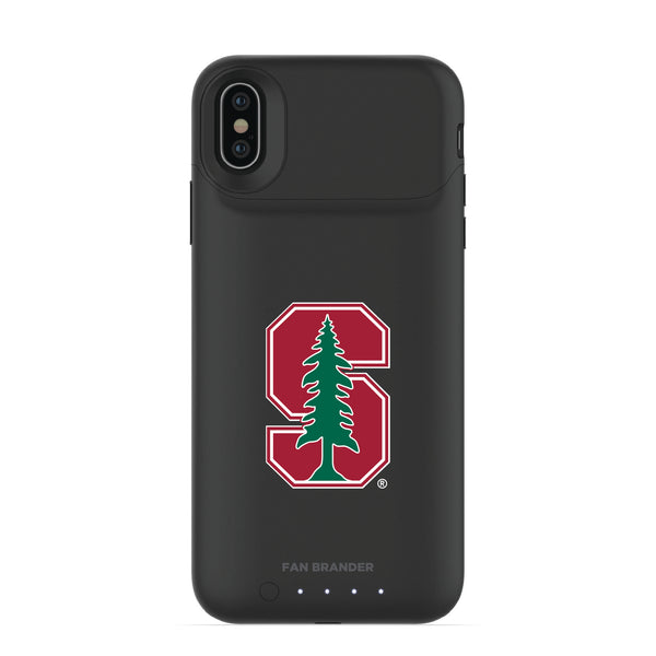 mophie Juice Pack Air battery phone case with Stanford Cardinal Primary Logo