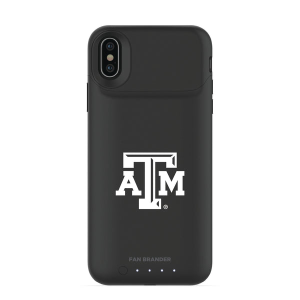 mophie Juice Pack Air battery phone case with Texas A&M Aggies Primary Logo