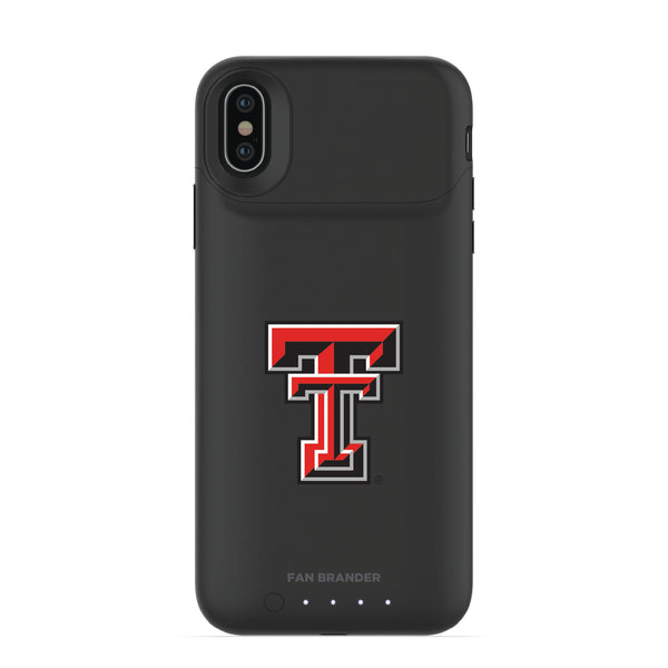 mophie Juice Pack Air battery phone case with Texas Tech Red Raiders Primary Logo
