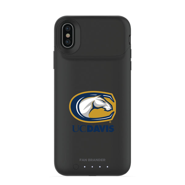 mophie Juice Pack Air battery phone case with UC Davis Aggies Primary Logo