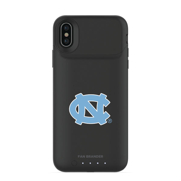 mophie Juice Pack Air battery phone case with UNC Tar Heels Primary Logo