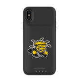 mophie Juice Pack Air battery phone case with Wichita State Shockers Primary Logo