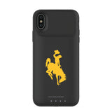 mophie Juice Pack Air battery phone case with Wyoming Cowboys Primary Logo