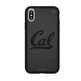 Speck Black Presidio Series Phone case with California Bears Primary Logo in Black