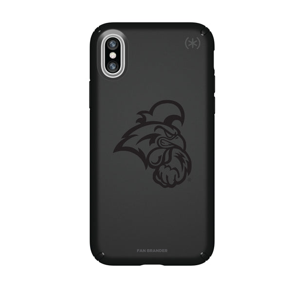 Speck Black Presidio Series Phone case with Coastal Carolina Univ Chanticleers Primary Logo in Black