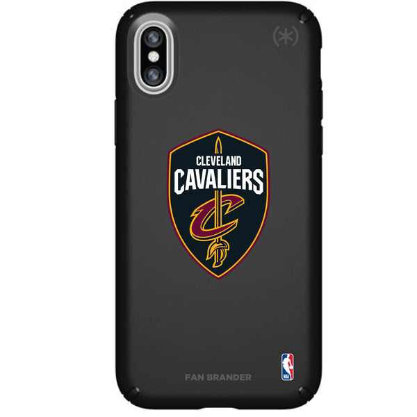 Speck Black Presidio Series Phone case with Cleveland Cavaliers Primary Logo