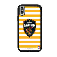 Speck Black Presidio Series Phone case with Cleveland Cavaliers Stripes design
