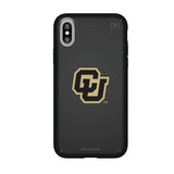 Speck Black Presidio Series Phone case with Colorado Buffaloes Secondary Logo