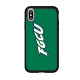 Speck Black Presidio Series Phone case with Florida Gulf Coast Eagles Wordmark Design