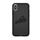 Speck Black Presidio Series Phone case with Florida Gulf Coast Eagles Primary Logo in Black