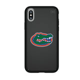 Speck Black Presidio Series Phone case with Florida Gators Primary Logo