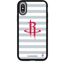 Speck Black Presidio Series Phone case with Houston Rockets Striped Design
