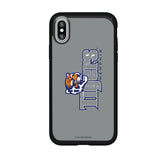 Speck Black Presidio Series Phone case with Memphis Tigers Wordmark Design
