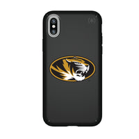Speck Black Presidio Series Phone case with Missouri Tigers Primary Logo