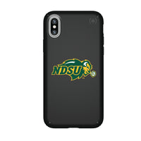 Speck Black Presidio Series Phone case with North Dakota State Bison Primary Logo