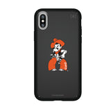 Speck Black Presidio Series Phone case with Oklahoma State Cowboys Secondary Logo