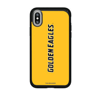 Speck Black Presidio Series Phone case with Southern Mississippi Golden Eagles Wordmark Design