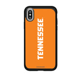 Speck Black Presidio Series Phone case with Tennessee Vols Wordmark Design