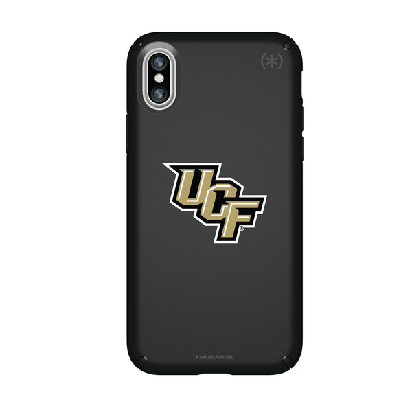 Speck Black Presidio Series Phone case with UCF Knights Primary Logo