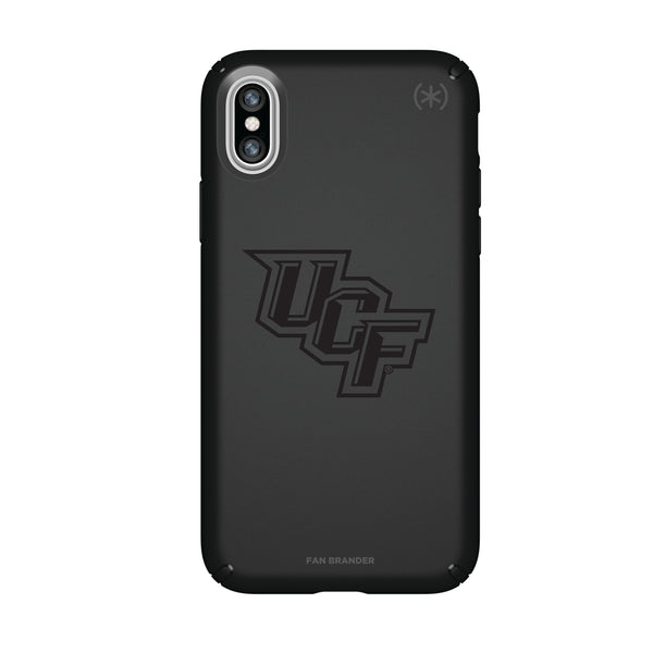 Speck Black Presidio Series Phone case with UCF Knights Primary Logo in Black
