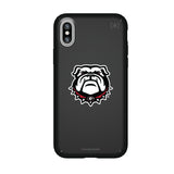Speck Black Presidio Series Phone case with Georgia Bulldogs Secondary Logo