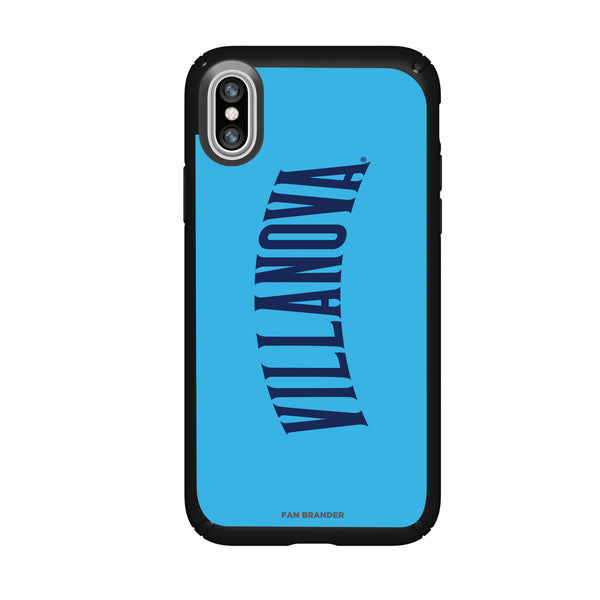 Speck Black Presidio Series Phone case with Villanova University Wordmark Design