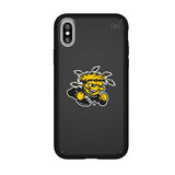 Speck Black Presidio Series Phone case with Wichita State Shockers Primary Logo