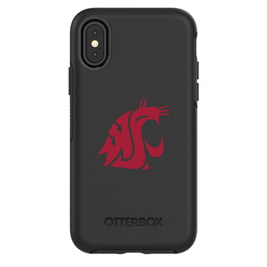 OtterBox Black Phone case with Washington State Cougars Primary Logo