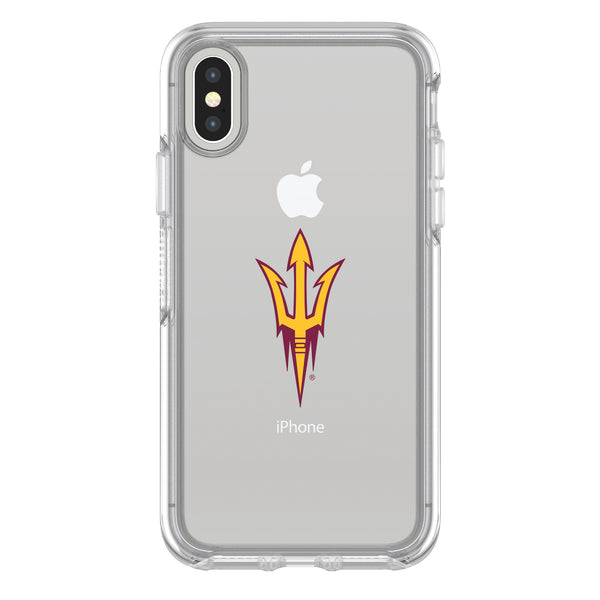 OtterBox clear Phone case with Arizona State Sun Devils Primary Logo