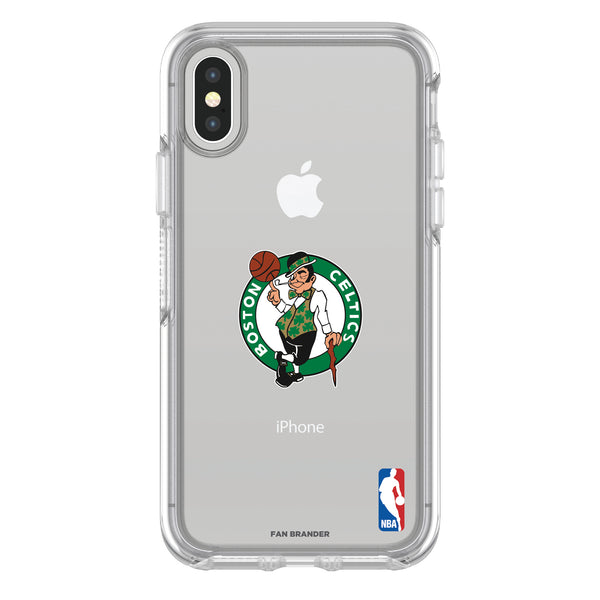 OtterBox clear Phone case with Boston Celtics Primary Logo