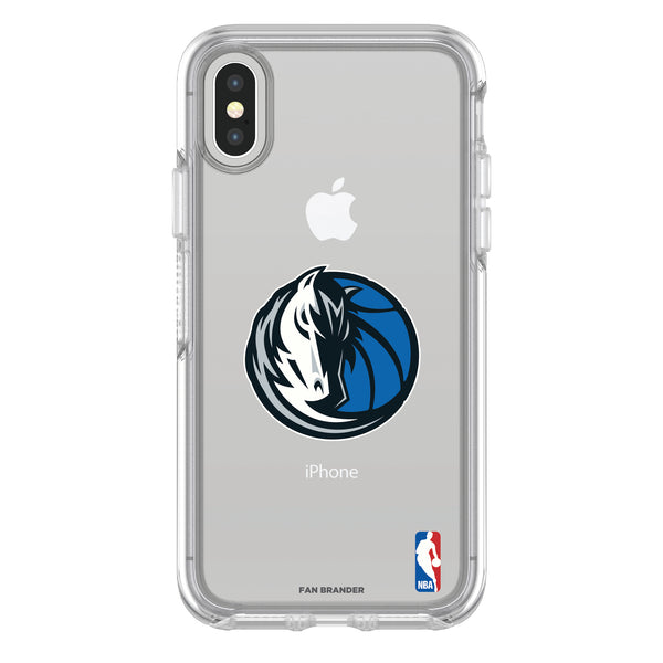 OtterBox clear Phone case with Dallas Mavericks Primary Logo