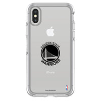 OtterBox clear Phone case with Golden State Warriors Primary Logo
