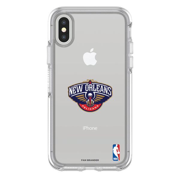 OtterBox clear Phone case with New Orleans Pelicans Primary Logo