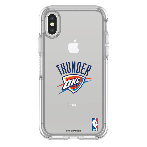 OtterBox clear Phone case with Oklahoma City Thunder Primary Logo