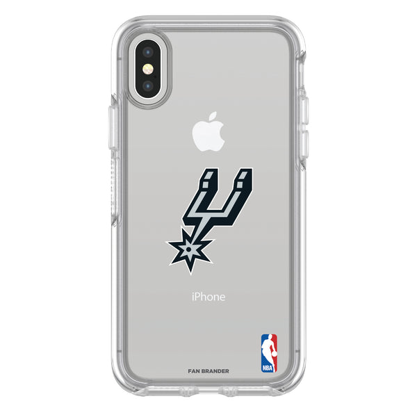 OtterBox clear Phone case with San Antonio Spurs Primary Logo