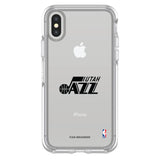 OtterBox clear Phone case with Utah Jazz Primary Logo